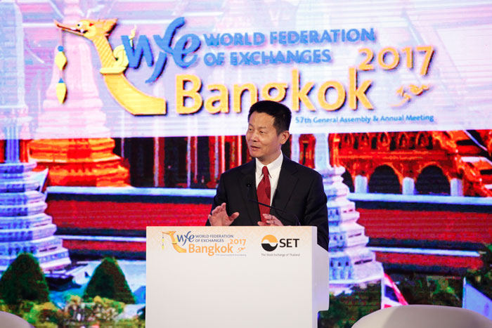 Mr. Wu Qing, Chairman of the SSE, elected Chairman of the World Federation of Exchanges